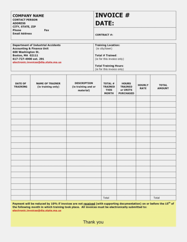 Free Handyman Invoice Template | Excel | Pdf | Word (.doc) Handyman Within Handyman Invoice