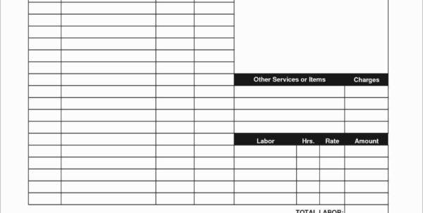 Free Handyman Invoice Template Handyman Invoice Template Along With Intended For Handyman Invoice