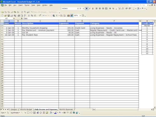 Free Income And Expenses Spreadsheet Small Business Template With Free Expenses Spreadsheet