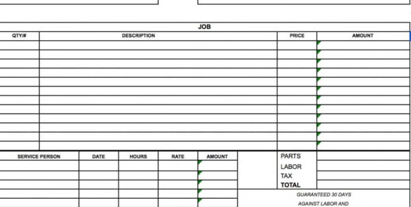 Free Independent Contractor Invoice Template | Excel | Pdf | Word (.doc) And Job Invoice Template