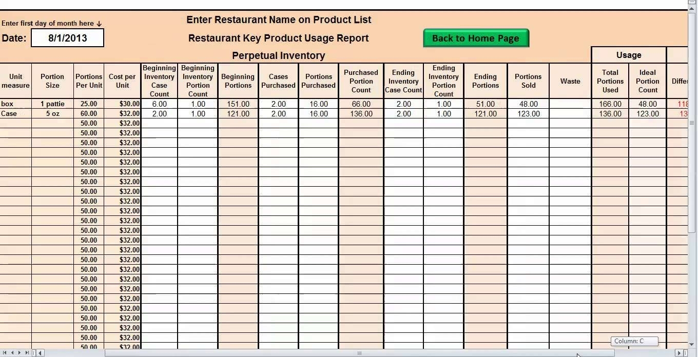 Free Inventory Control Software Excel   Durun.ugrasgrup Intended For Excel Inventory Control Template