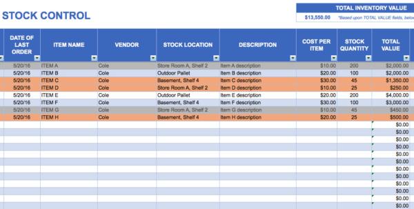 Free Inventory Management Excel Spreadsheet | Spreadsheet Collections In Inventory Management Excel Spreadsheet
