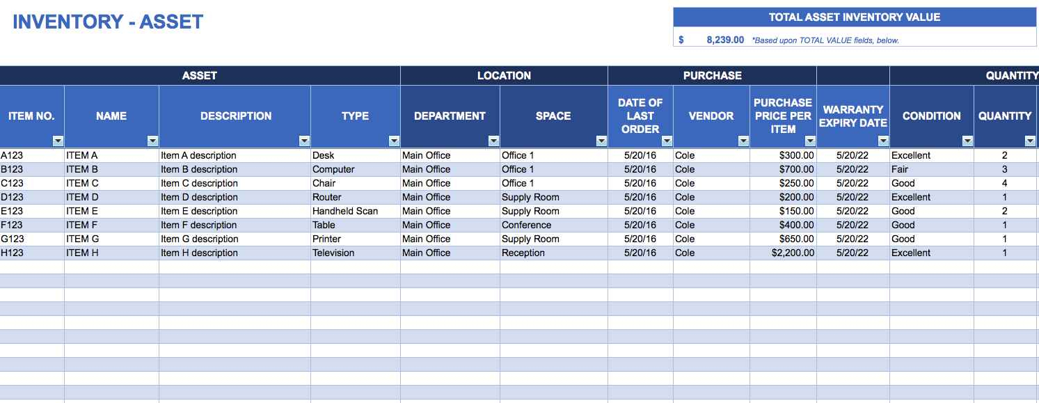 Free Inventory Tracking Spreadsheet Template Vintage Inventory Within Free Inventory Tracking Spreadsheet Template