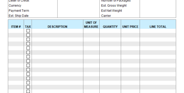 Free Invoice Templates For Excel In Create Invoices From Excel Spreadsheet