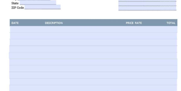 Free Legal (Attorney/lawyer) Invoice Template | Excel | Pdf | Word For Legal Invoice Template