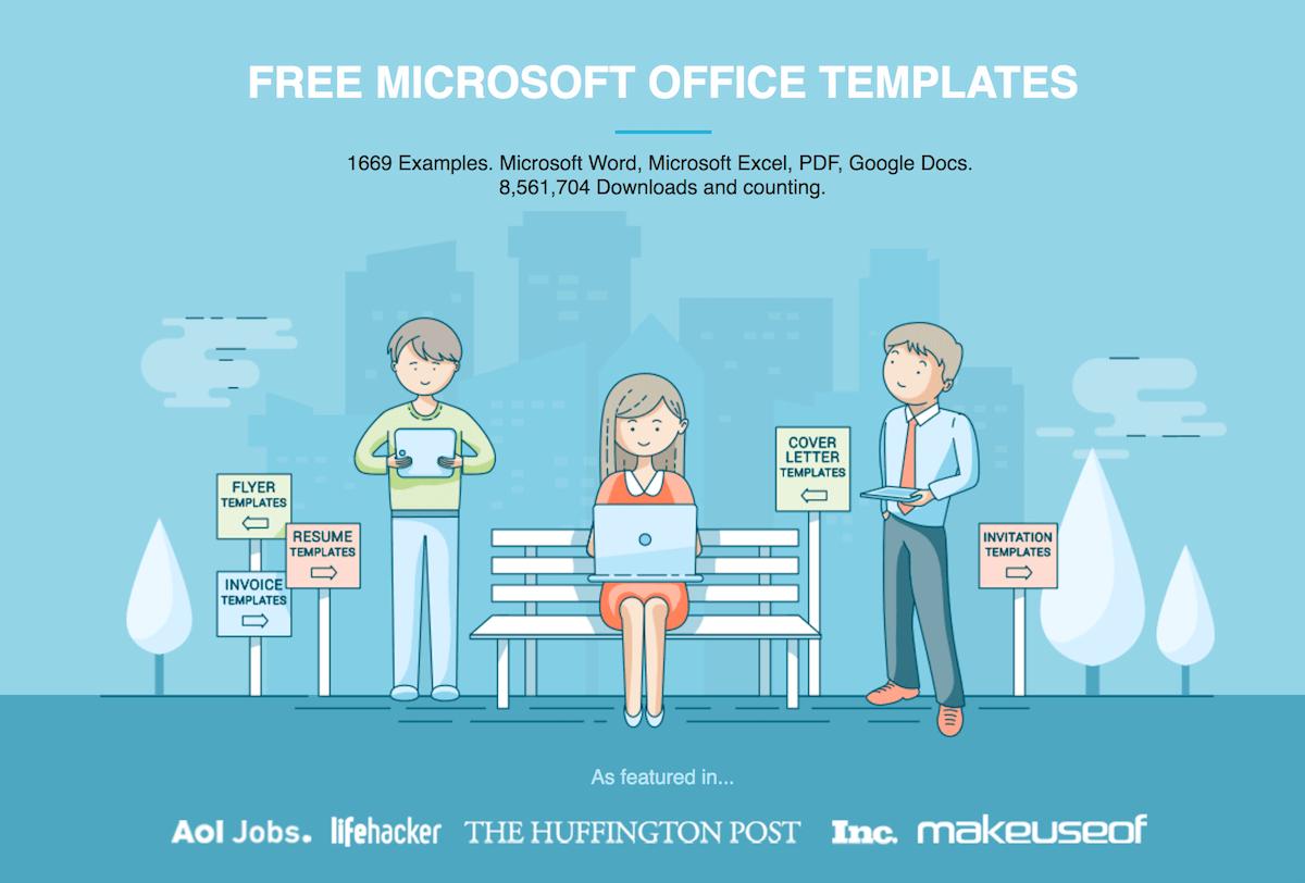 Free Microsoft Office Templateshloom With Microsoft Invoice Office Templates