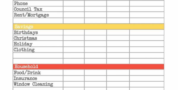 Free Monthly Budget Planner Spreadsheet Ukran.soochi To Budget Planner Spreadsheet