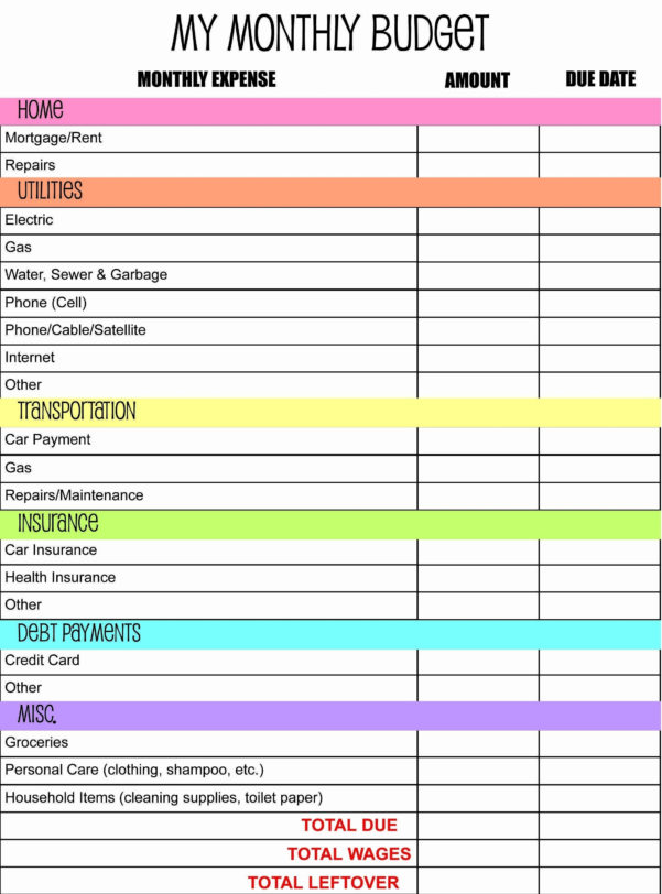 Free Online Budget Calculator Spreadsheet And Free Excel Budget As Within Online Budget Calculator Spreadsheet