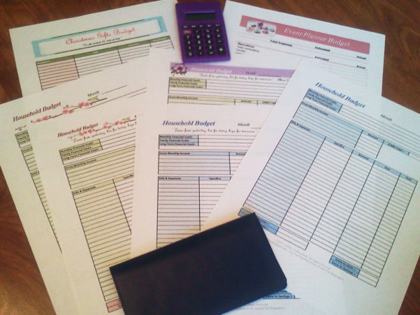 Free Printable Budget Worksheets And Budget Spreadsheets Free