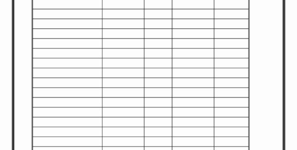 Free Printable Spreadsheets   Zoro.9Terrains.co To Printable Blank Inventory Spreadsheet