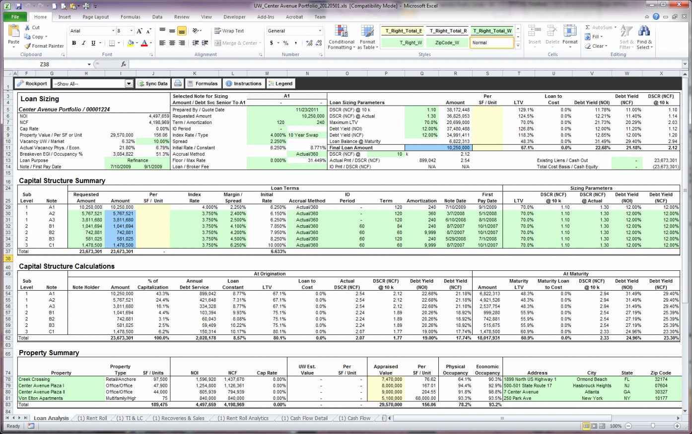 Free Property Management Spreadsheet Excel Template For Trackingl To Rental Property Management Spreadsheet Template
