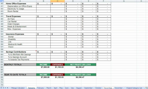 Free Real Estate Agent Expense Tracking Spreadsheet Within Realtor Expense Tracking Spreadsheet