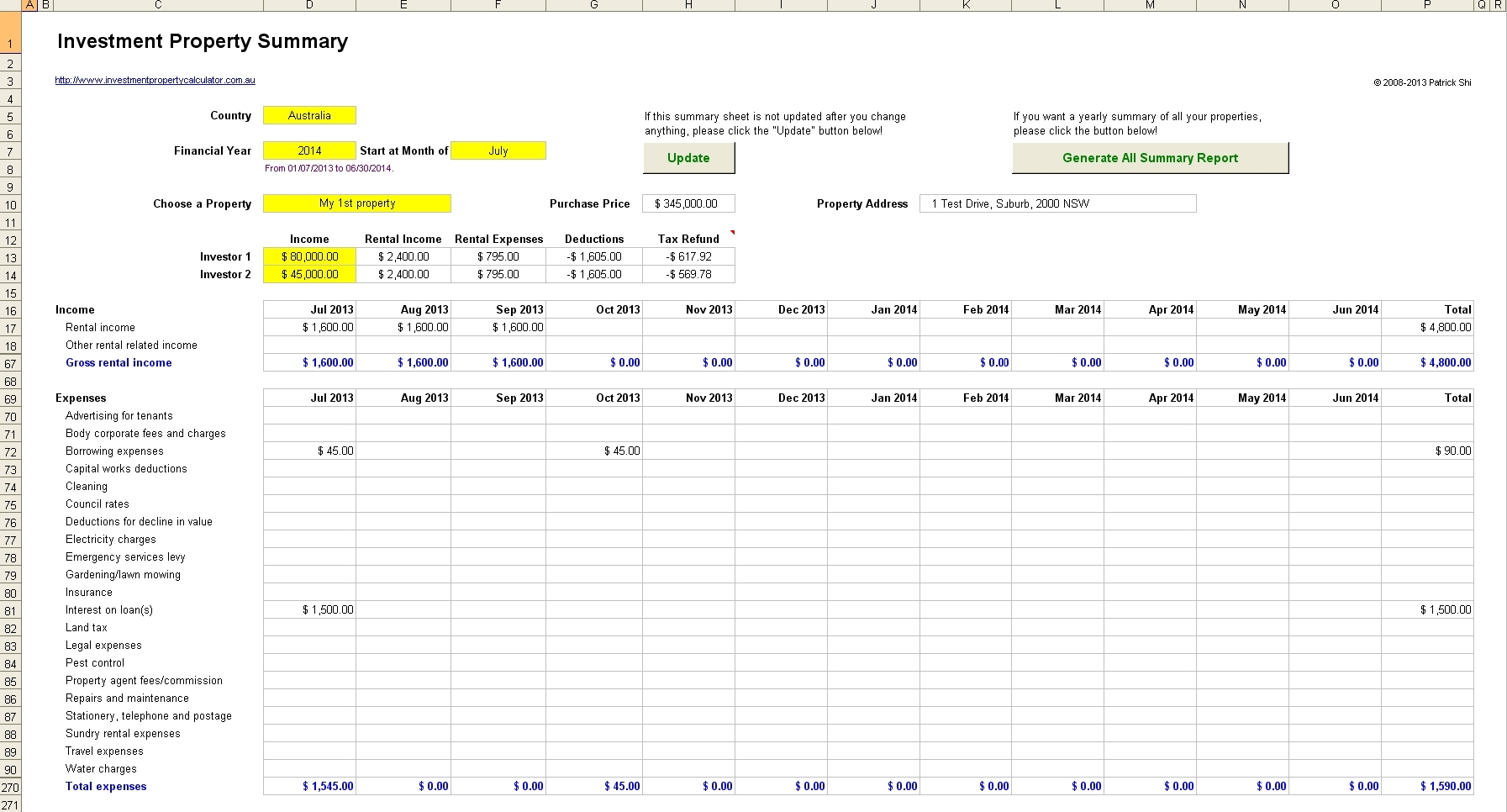 Free Rental Income Spreadsheet Template | Natural Buff Dog For Free For Free Rental Property Spreadsheet Template