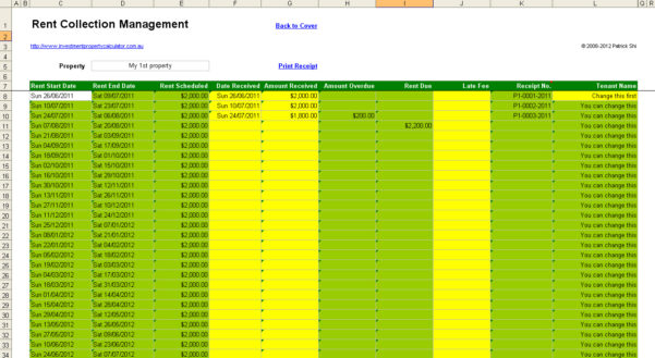 Free Rental Property Investment Analysis Spreadsheet | Papillon Northwan Inside Rental Property Investment Spreadsheet