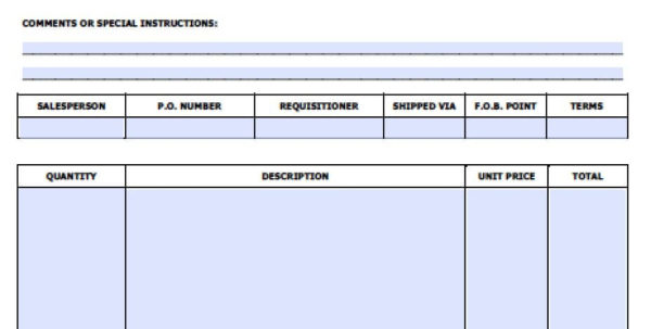 Free Sales Invoice Template | Excel | Pdf | Word (.doc) Intended For Invoice Template Word Doc