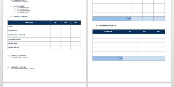 Free Startup Plan, Budget & Cost Templates | Smartsheet And Start Up Business Expense Template