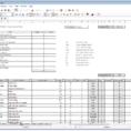 Function Point Spreadsheet Throughout Spreadsheet Development