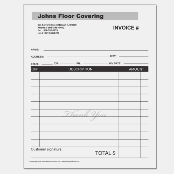 Generalvoice Template Excel Pdf Contractor Samples Receipt Labor To General Labor Invoice
