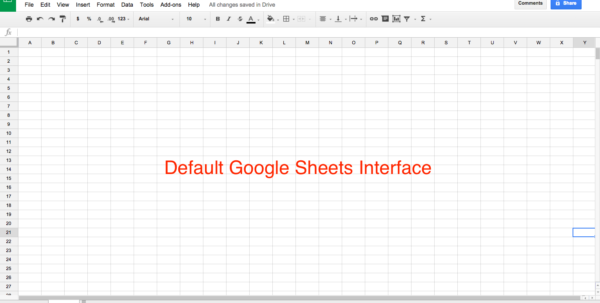 Google Sheets 101: The Beginner's Guide To Online Spreadsheets   The Inside Blank Spreadsheets