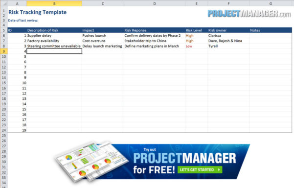 Guide To Excel Project Management   Projectmanager Throughout Spreadsheet Project Management