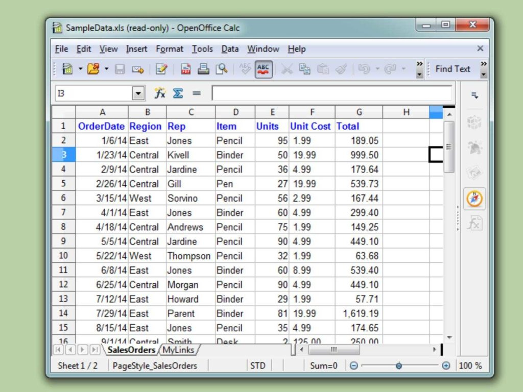 Help With Excel Spreadsheets   Tagua Spreadsheet Sample Collection Inside Help With Excel Spreadsheets