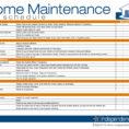 Home Maintenance Schedule Spreadsheet On Wedding Budget Spreadsheet Throughout Home Maintenance Spreadsheet