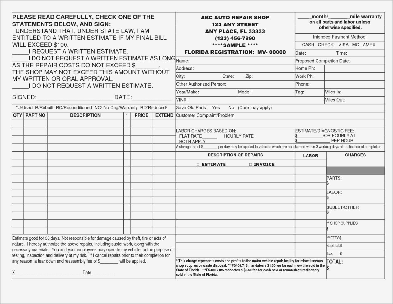 Hourly Invoice Template Word | Templaterecords With Hourly Invoice Template