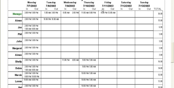 Hourly Schedule Template Excel | Calendar Template Excel With Excel Within Employee Schedule Excel Spreadsheet Employee Schedule Excel Spreadsheet Spreadsheet Software