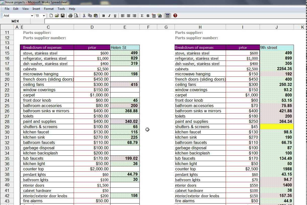 House Flipping Software Free | Sosfuer Spreadsheet with House Flipping Spreadsheet Free