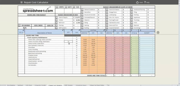 House Flipping Spreadsheet As How To Make A Spreadsheet How To Do A Within House Flipping Spreadsheet Free