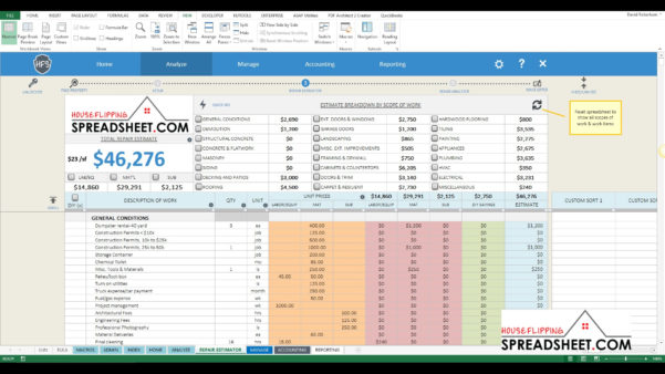 House Flipping Spreadsheet On Spreadsheet Templates Excel To Real Estate Flip Spreadsheet