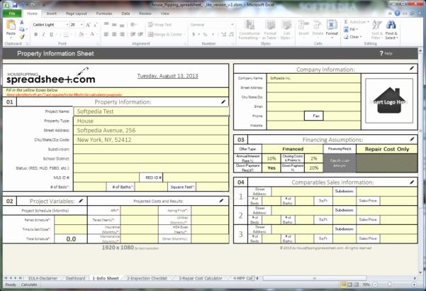 House Flipping Spreadsheet Template Lovely Flip Calculator To Property Flipping Spreadsheet