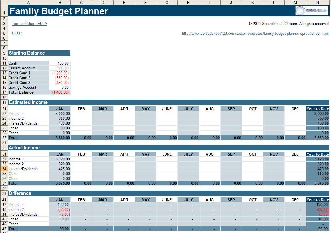 Household Budget Planner Template Australia Spreadsheet Uk Family With Free Family Budget Spreadsheet