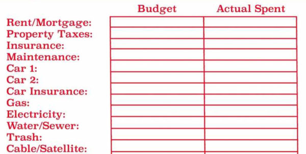 Household Budget Spreadsheet Uk Excel New Spreadsheet Examples And How To Make A Household Budget Spreadsheet
