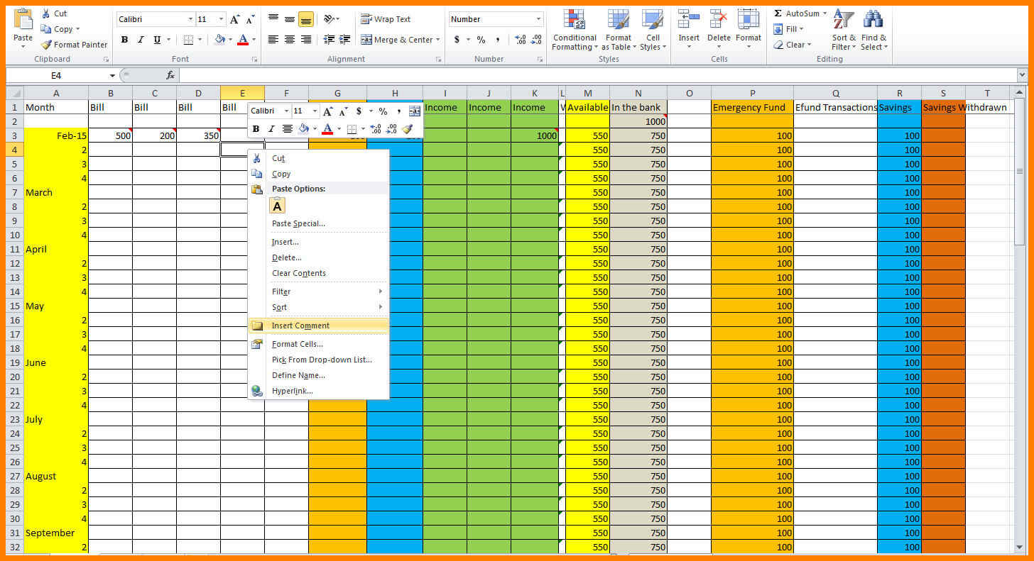Household Budget Spreadshet How Toe Home Spreadsheet Make And How To Make A Household Budget Spreadsheet