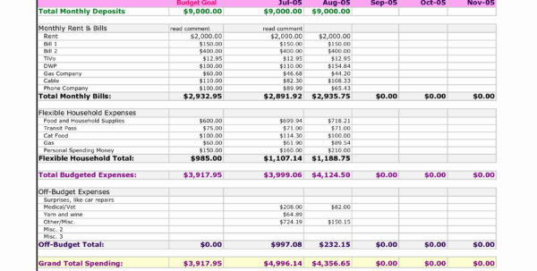 Household Expenses Spreadsheet Luxury Excel Expenses Report   Cover Inside Spreadsheet For Household Expenses