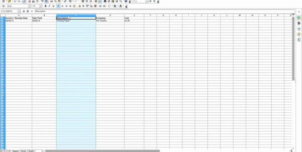 Householdbudget004 Spreadsheet Sample Excel Budget Templates Example Inside Spreadsheets For Business