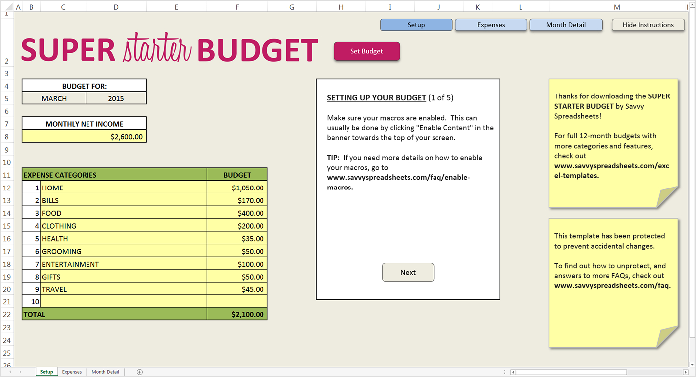 How Do You Budget? Interview With Janet At Savvy Spreadsheets With How Do You Do A Spreadsheet