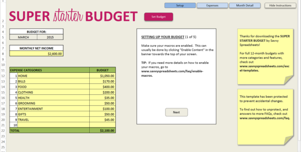 How Do You Budget? Interview With Janet At Savvy Spreadsheets Within How Do You Do Spreadsheets