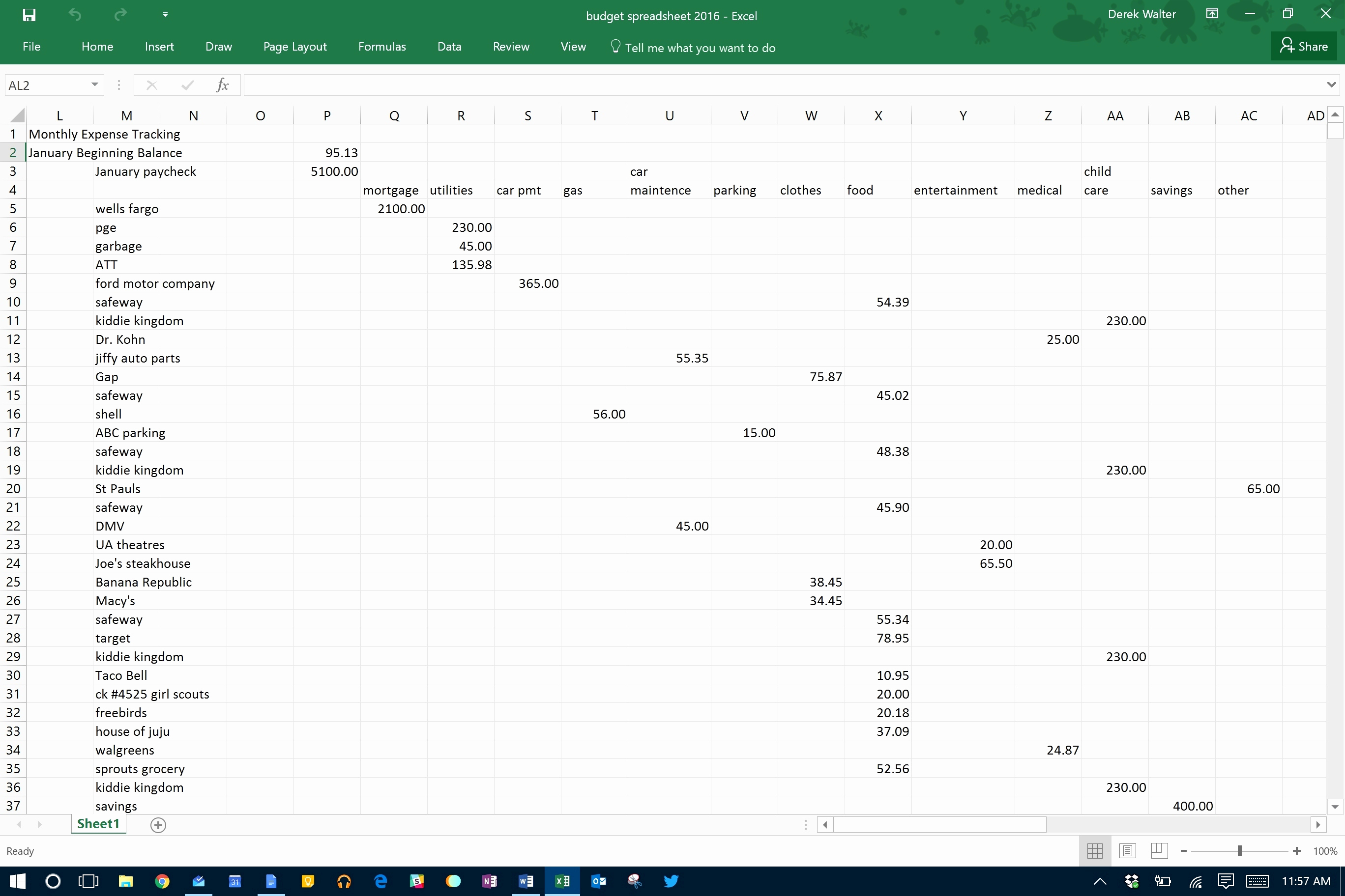 How Long Will My Money Last Excel Formula Beautiful How Long Will My In How Long Will My Money Last Spreadsheet