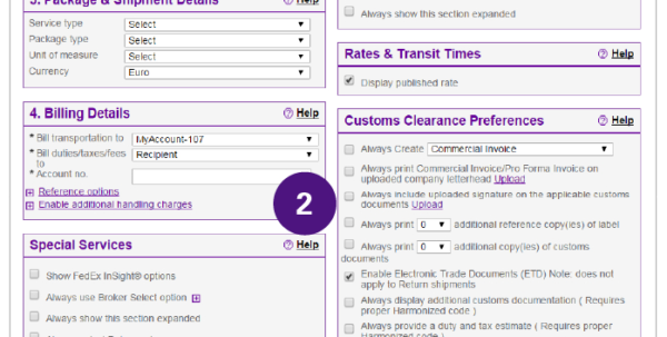 How To Complete International Shipping Documentation   Fedex | Spain Intended For Fedex Invoice