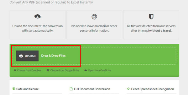 How To Convert A Pdf File To Excel | Digital Trends To How To Convert Pdf File Into Excel Spreadsheet