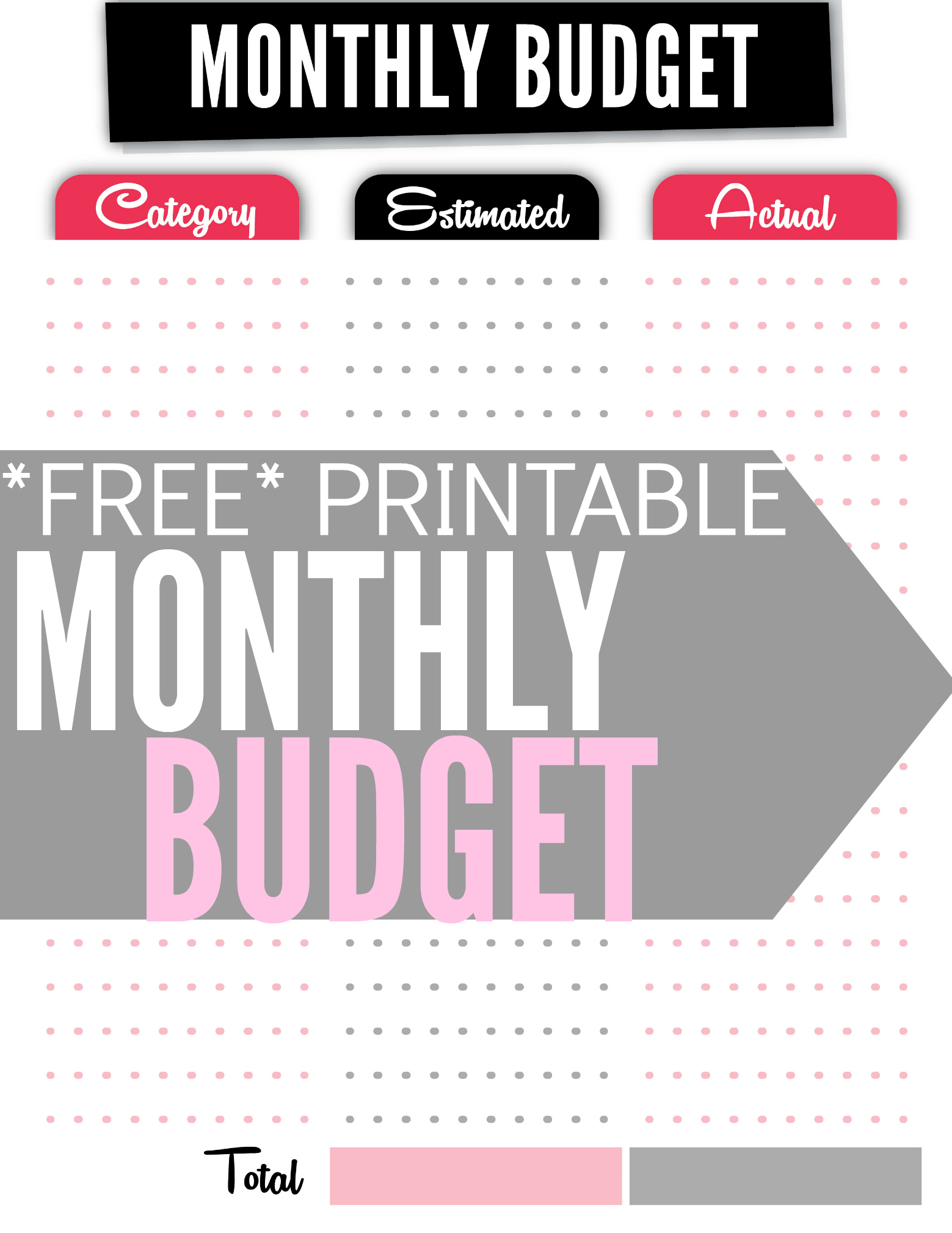 How To Create A Budget (Plus Free Budget Worksheet)   Single Moms Income Inside Budget Spreadsheets Free