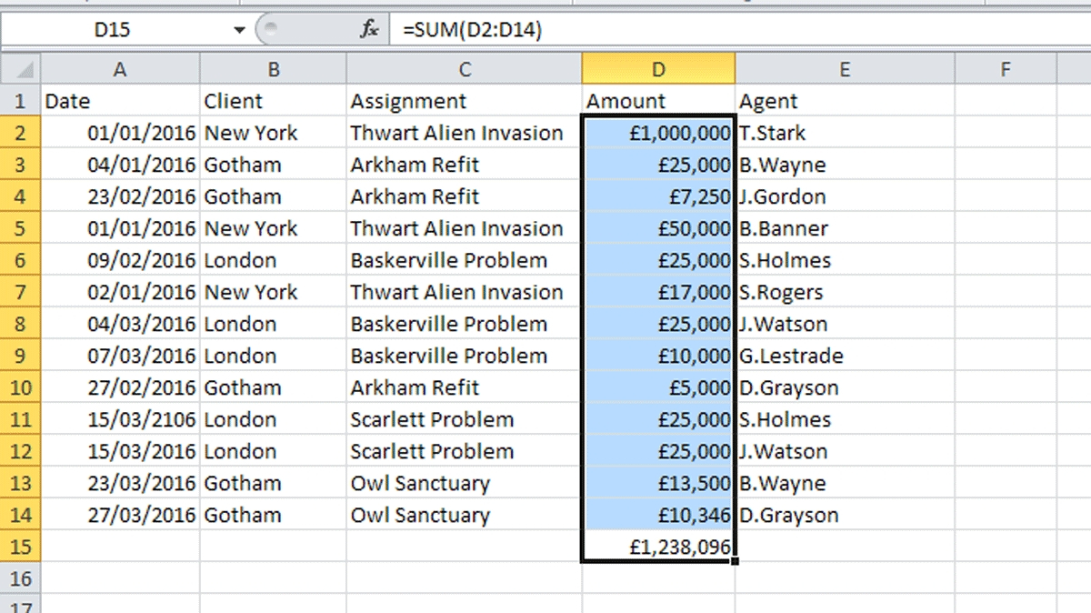 How To Create Basic Formulae In Excel Tech Advisor And Basic Throughout Basic Accounting Excel Spreadsheet