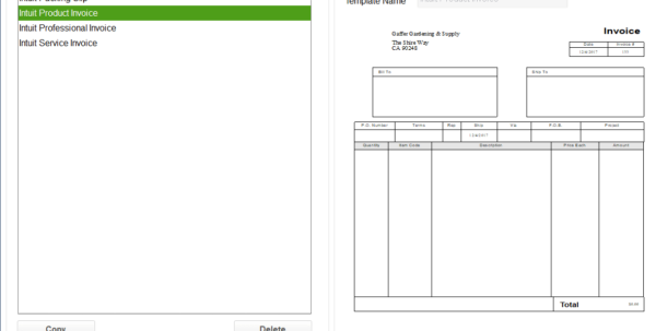 How To Customize Invoice Templates In Quickbooks Pro | Merchant Maverick With Invoice Template Quickbooks