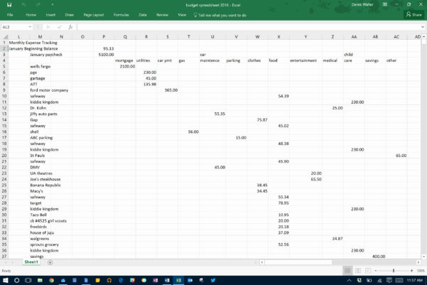 How To Keep Track Of Business Expenses Spreadsheet As Excel And Spreadsheet To Keep Track Of Expenses