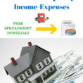 How To Keep Track Of Rental Property Expenses Inside Free Rental Property Spreadsheet Template