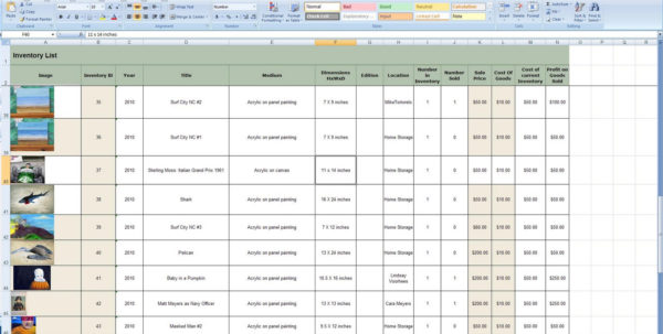 How To Make A Spreadsheet For Inventory 2018 How To Make An Excel And How To Make A Simple Inventory Spreadsheet