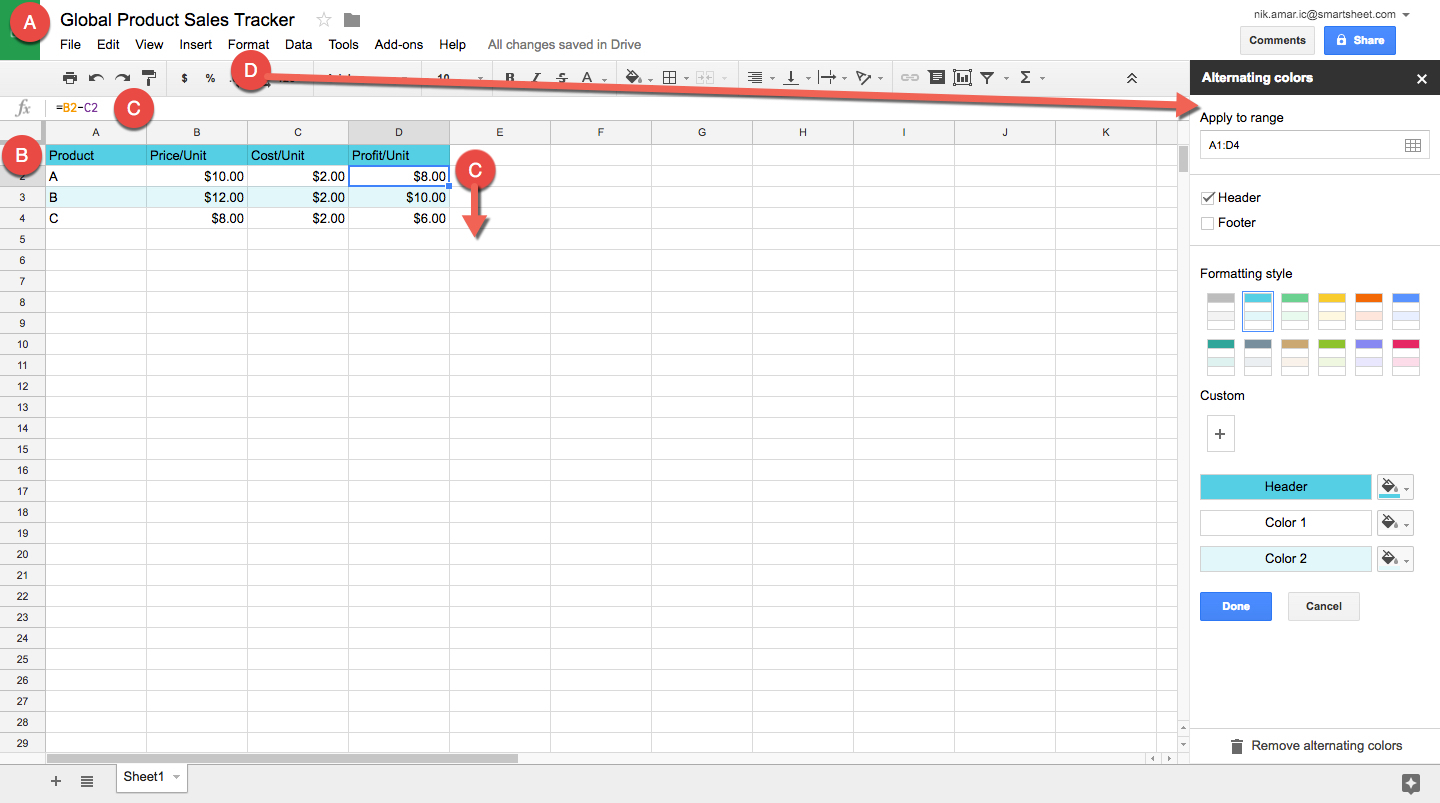 How To Make A Spreadsheet In Excel, Word, And Google Sheets | Smartsheet With Make A Spreadsheet