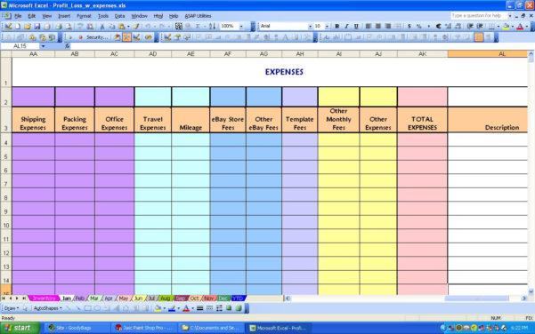 How To Make An Excel Spreadsheet For Monthly Expenses On Spreadsheet With Monthly Expense Spreadsheet